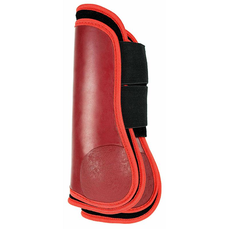 Pair of Red tendon boots