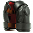 40Goal Black Polo Kneepads with Two Velcros