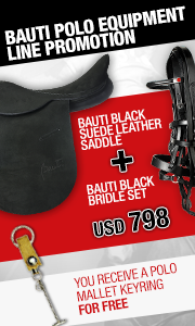 Bauti Polo Boots With Zipper + Polo Mallet Keyring = USD 798