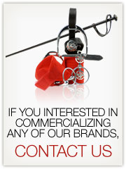 If you interested in commercializing any of our brands, contact us